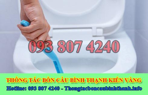 Thông bồn cầu tắc băng vệ sinh Quận Bình Thạnh 0938074240