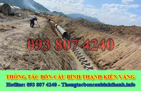 Công ty Kiến vàng báo giá thi công cống thoát nước Quận Bình Thạnh.