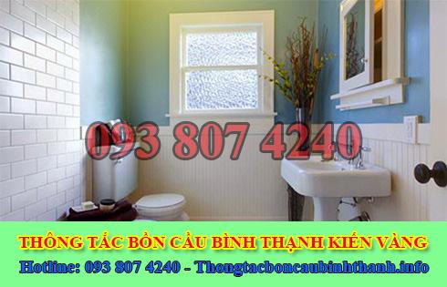 Xử lý mùi hôi bồn cầu toilet nhà vệ sinh Quận Bình Thạnh