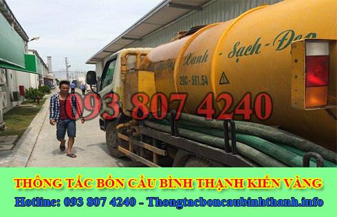 Bảng Giá Hút Hầm Cầu Quận Bình Thạnh Giá Rẻ 0938074240