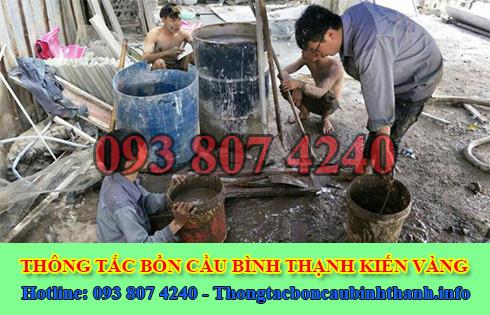Dịch Vụ Hút Nạo Vét Hố Ga Quận Bình Thạnh Giá Rẻ 0938074240