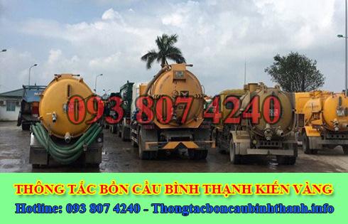 Số điện thoại hút hầm cầu Quận Bình Thạnh giá rẻ 0938074240