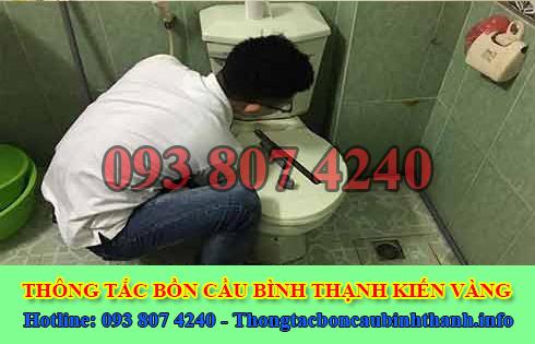 Số điện thoại thông bồn cầu Quận Bình Thạnh giá rẻ 0938074240