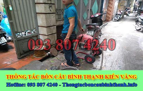 Số điện thoại thông cống nghẹt Quận Bình Thạnh giá rẻ 0938074240