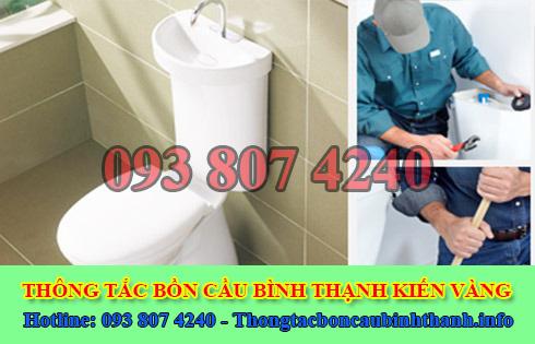 Thợ sữa bồn cầu toilet bị nghẹt Quận Bình Thạnh 0938074240