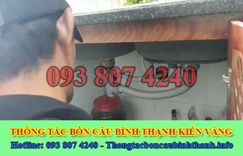 Thợ sửa bồn rửa chén bát Quận Bình Thạnh tại nhà 0903737957