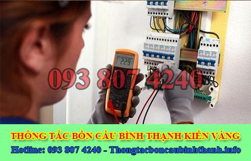 Thợ sửa chữa điện nước Quận Bình Thạnh tại nhà 0938074240