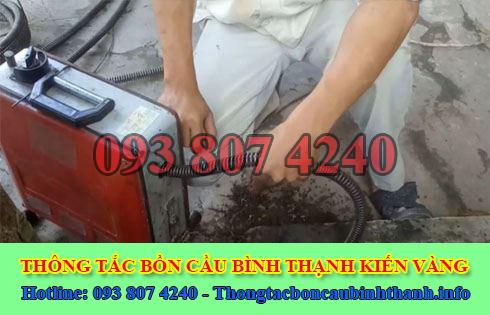 Thông đường ống nước bị tắc nghẹt Quận Bình Thạnh 0938074240