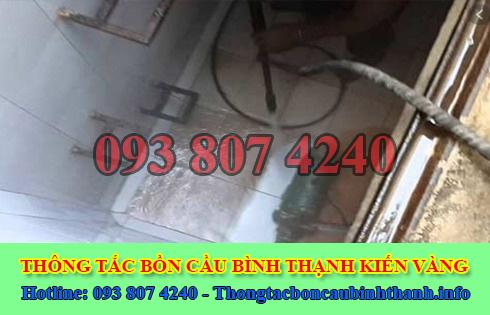 Bảng giá vệ sinh bể chứa nước ngầm Quận Bình Thạnh 0938074240