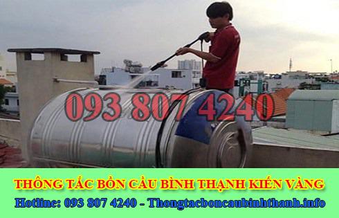 Bảng giá vệ sinh bồn nước tại Quận Bình Thạnh giá rẻ 0938074240